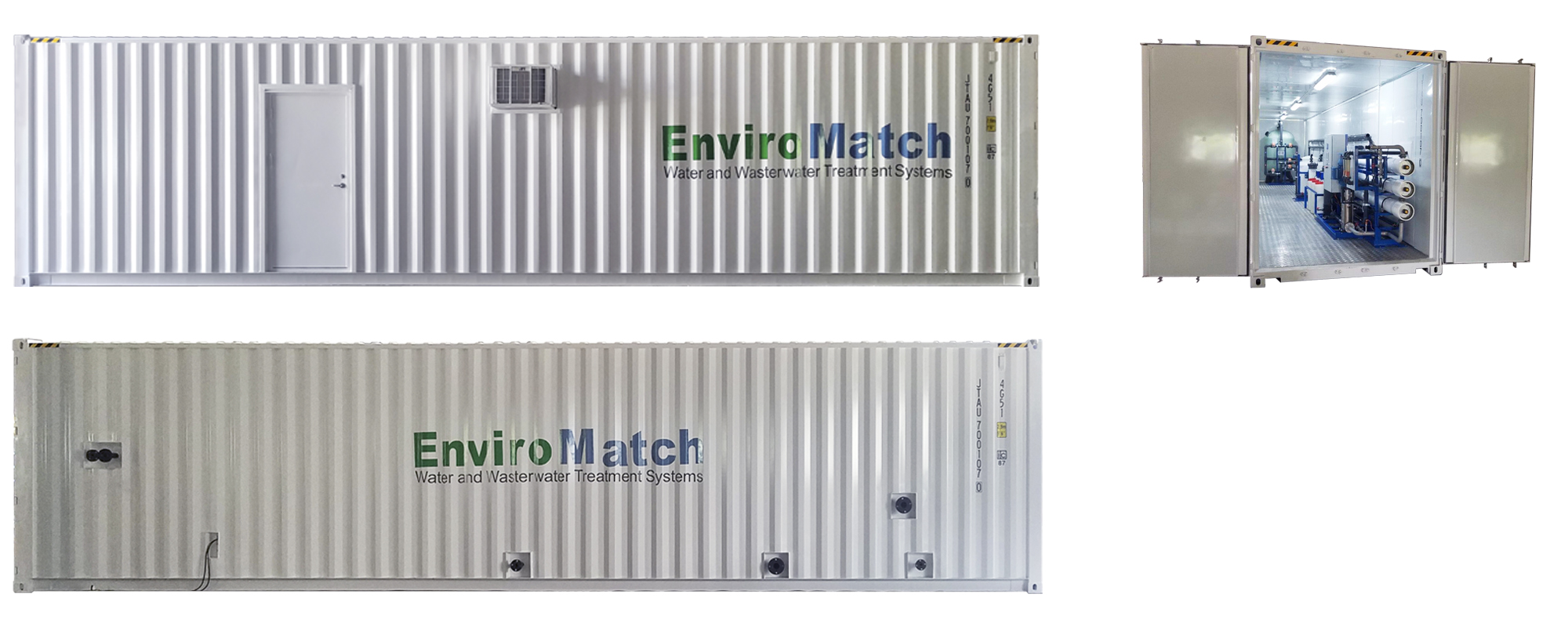Containerized Brackish Water Reverse Osmosis